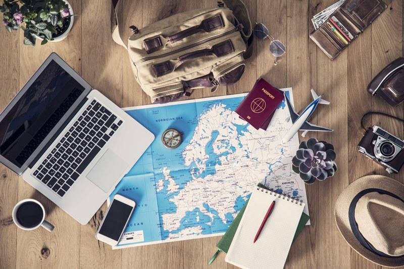 Come viaggiare senza avere le proprie valigie al seguito